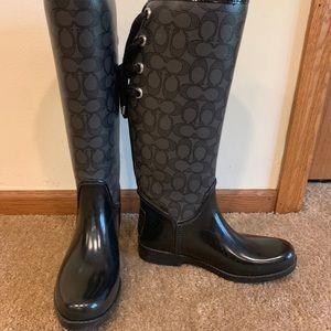 134d54673120 Coach Winter & Rain Boots for Women   Poshmark